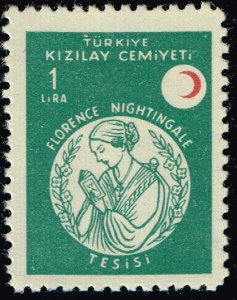 TURKEY Stamp RED CRESCENT COLLECTION 1958 Florence Nightingale Foundation MH/OG