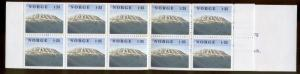 NORWAY 730a MNH COMPLETE BOOKLET GAUSTATOPPEN MOUNTAINS 1978