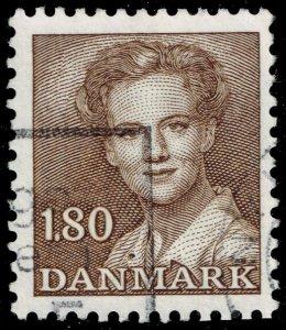 Denmark #702 Queen Margrethe II; Used (3Stars)