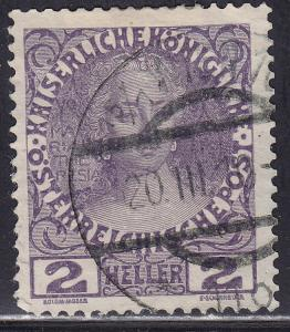 Austria 111a Maria Theresa 1908
