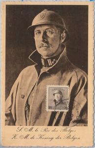 57005 - BELGIUM - POSTAL HISTORY: MAXIMUM CARD 1940 - ROYALTY