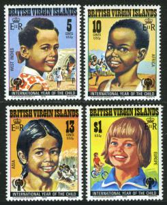 Virgin Islands MNH 356-9 Year Of The Child