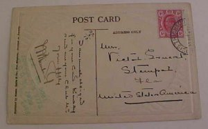 TRANSVAAL PREMIER SOUTH AFRICA PICTURE CARD FIRST 1916