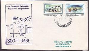 NEW ZEALAND ANTARCTIC 1985 Scott Base cover - Penguin cachet.......35485