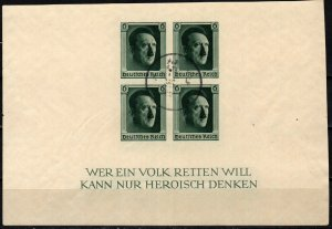 Germany #B103  F-VF Used CV $22.50 (X7049L)