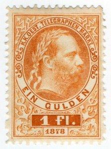 (I.B) Austria Telegraphs : State Telegram 1fl