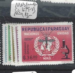 PARAGUAY  (P2505B)  MOSQUITO  SC 679-83   MOG