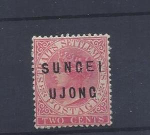 Malaya (Sungei Ujong), 4, Queen Victoria Ovpt. Single,**H**