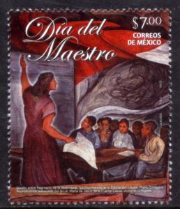 MEXICO 2824, Teacher's Day. MINT, NH. VF.