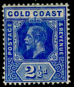 GOLD COAST SG76, 2½d bright blue, VLH MINT. Cat £15.