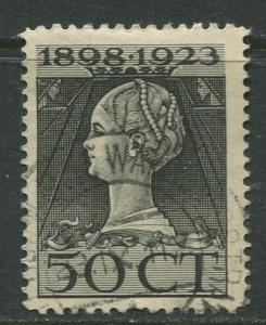 Netherland - Scott 131 - Queen Wilhelmina -1923- Used - Single 50c stamp