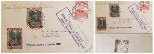 O) 1941 BELGIAN CONGO, COLONY, SUZA RIVER, WATERFALL, KING ALBERT MEMORIAL LEOPO