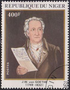 Niger 578 J.W. von Goethe (1749-1832) 1982