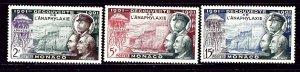 Monaco 303-05 MH 1953 set    (ap2889)