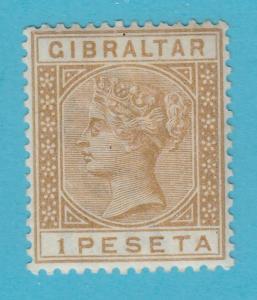 Gibraltar 36 Postfrisch mit Scharnier Og Kein Fehler Extra Fein