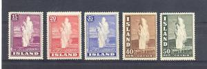 Iceland #203-6,8 the high values  Mint VF NH  Cat $170