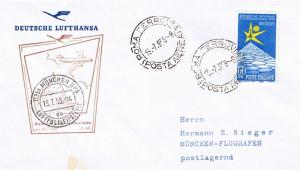 Italy 60L Brussels International Exposition 1958 Roma Ferrovia, (Posta Aerea)...