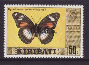 1981 Kiribati 50c Official Wmkd U/M