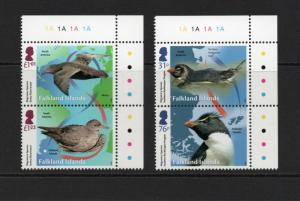 FALKLAND ISLANDS 2018 Migratory species set MNH condition.