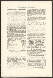 Doyle's_Stamps: APS Members' Delight- The American Philatelist, Vol. 1, No. 1