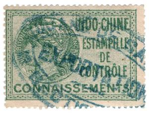 (I.B) France Colonial Revenue : Indo-China (Connaissements)