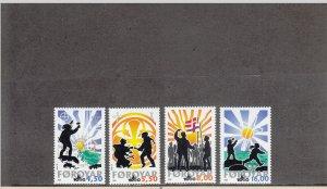 FAROE ISLANDS 370-373 MNH 2014 SCOTT CATALOGUE VALUE $9.00