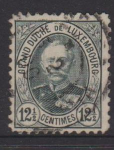 Luxembourg Sc#61 Used