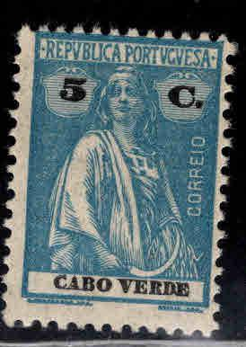 Cabo or Cape Verde Scott 183 MH* Ceres stamp