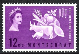 Montserrat 150, MNH. FAO. Freedom from Hunger campaign. Protein Food, 1963