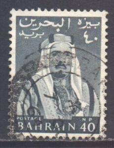 Bahrain Scott 134 - SG132, 1964 Sheik 40np used