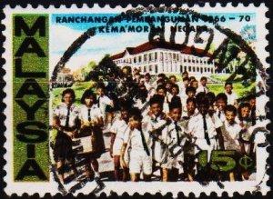 Malaysia. 1966 15c S.G.40 Fine Used