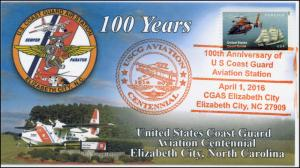 2016, US Coast Guard, Aviation Centennial, Pictorial, Elizabeth City NC, 16-107