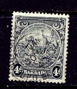 Barbados 198a Used 1938 Perf 14
