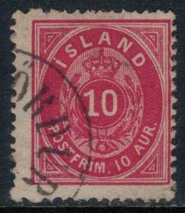 Iceland #11  CV $10.00