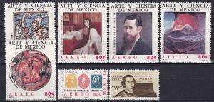 Mexico #C380-86 MNH  Z466