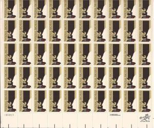 US Stamp 1984 National Archives Abe Lincoln 50 Stamp Sheet Scott #2081