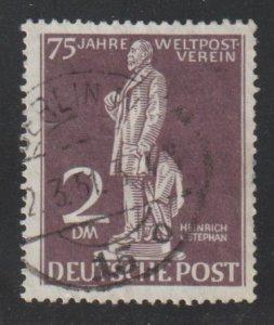 Germany Scott 9N41 BERLIN 2 DM 75 Year Weltpost Verein HIGH CAT.