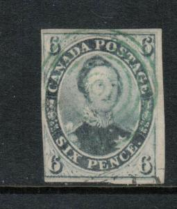Canada #5b Used Fine With 4 Ring Cancel **With Certificate**