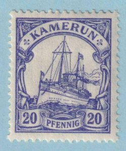 CAMEROUN 23a DULL BLUE  MINT HINGED OG * NO FAULTS EXTRA FINE!