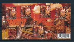 [16554] Netherlands 2007 Beautiful Holland Utrecht Railway Football Sheet MNH