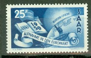 Saar 226 mint (NH but disturbed gum) CV $35