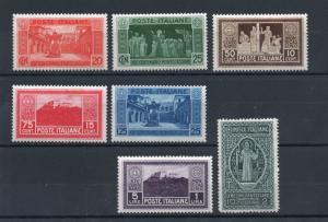 Italy - Sc# 232 - 238 MNH (stain on 235/lt crease on 323) - Lot 0418415