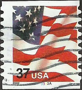 P.N.C. 3333A # 3632 USED FLAG