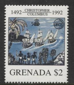 Grenada-Scott 2072 - Discovery of America Issue-1992- MNH - Single $2.00c Stamp