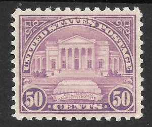 Doyle's_Stamps: MNH  1931  50c Arlington Amphitheater  Scott  #701**