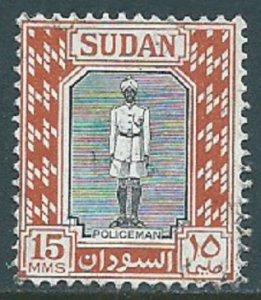 Sudan, Sc #104, 15m Used