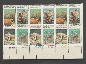 UNITED STATES 1830a PB CF MNH BLOCK OF 12 2019 SCOTT SPECIALIZED CAT VALUE$10.00