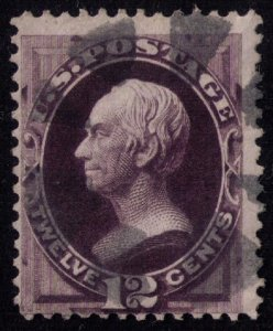 US Sc 162 Used BLACK VIOLET F-VF CV $135.00