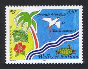 Wallis and Futuna Birds World Environment Day SG#799 SC#553