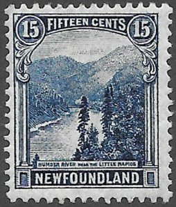 Newfoundland Scott Number 142 F H Cat C$7.50